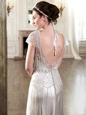 Satin Sheath Dress - Ettia