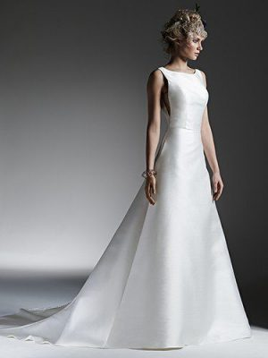 A-line wedding dress - McCall