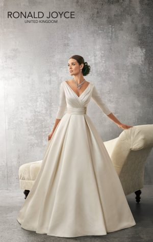 Structured Bodice Wedding Dress - Andrea 69155