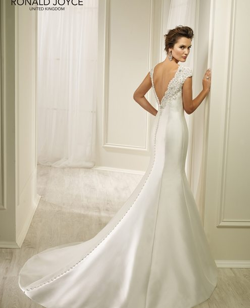 Fit and flare Wedding Gown - HONEY 69224