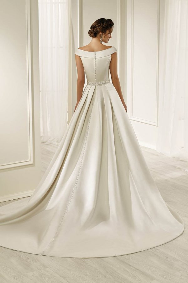 A-line satin gown - Harmony 69212