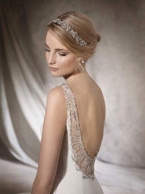 Elegant mermaid wedding dress - HALIZA