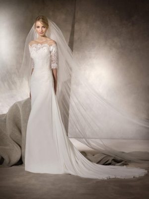 Flare wedding dress - HARA