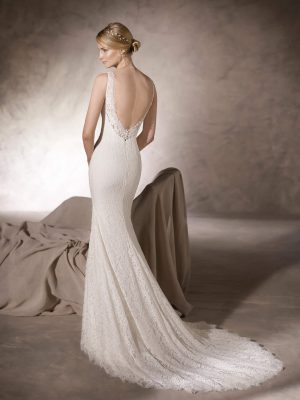 Mermaid wedding dress - HEIDI