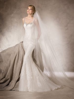Mermaid wedding dress - HELOISE