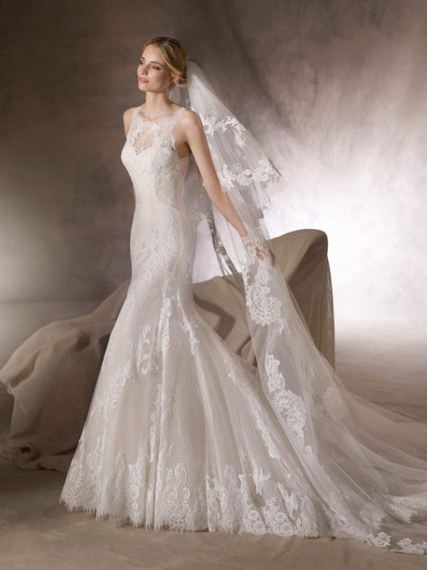 Mermaid wedding dress - HUALCAN