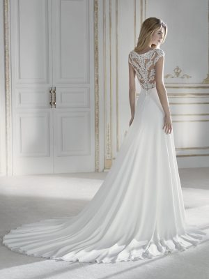 Flared wedding dress - PALACIO