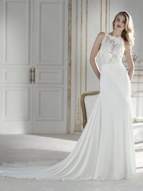 Flowing wedding dress - PALMERA