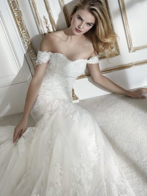 Mermaid wedding dress - PARMA