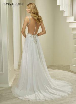 Chiffon dress - 69253 Helga