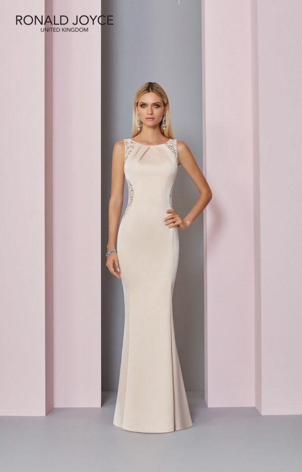 Floor length crepe dress - 29305