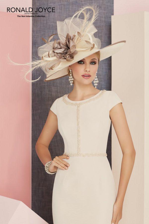Satin Back Crepe Dress - 991302