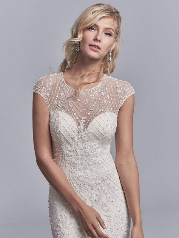 Vintage-inspired wedding dress - Grady 11210