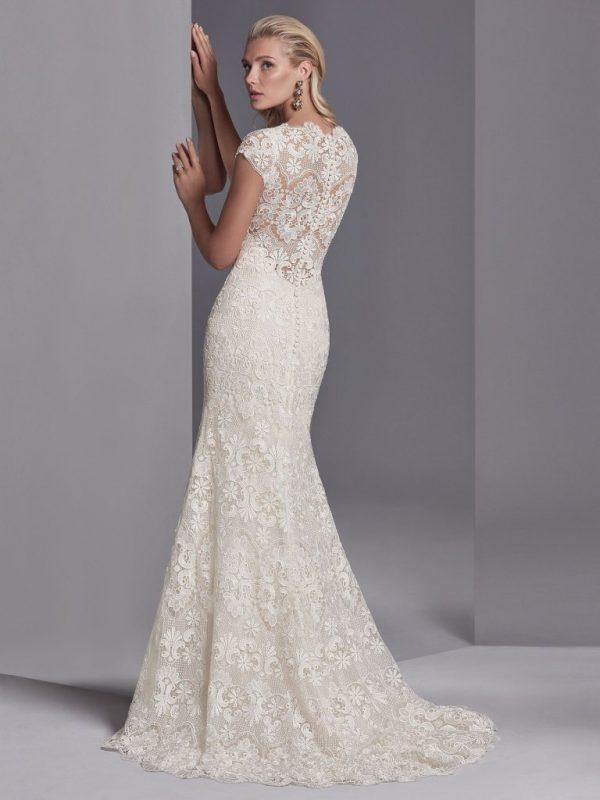 Boho wedding gown - Zayn Rose 11233