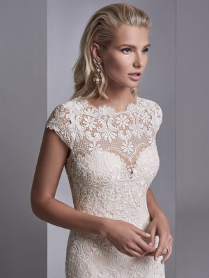 Boho wedding gown - Zayn Rose 11233
