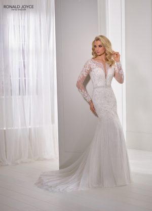 Fit and flare wedding dress - Nerissa 69360