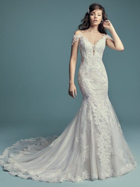 Fit-and-flare Wedding Dres - Della Lynette