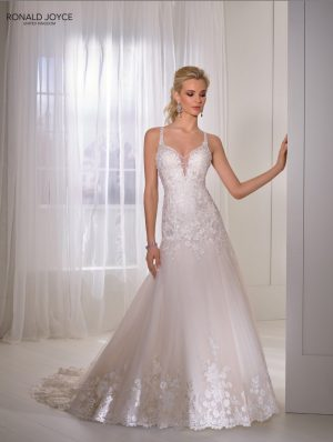 A-line wedding dress - Niurka 69378