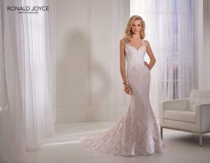 Fit and flare wedding dress - Natividad 69359