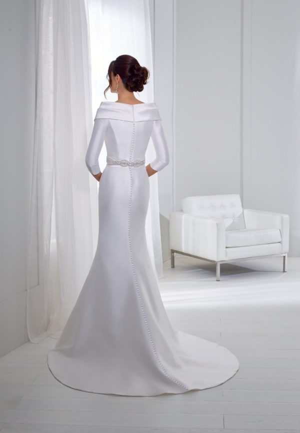 Fit and flare wedding dress - Tyler 18267
