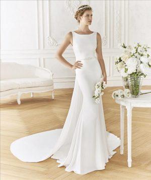 Simplistic Crepe gown - Bilbao
