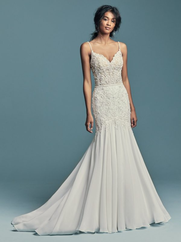 Chic boho wedding dress - Imani