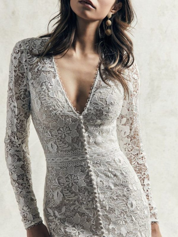 Sleeved Wedding Gown - Dennison
