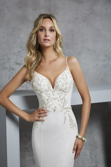 Fit and flare gown - Casey 69420