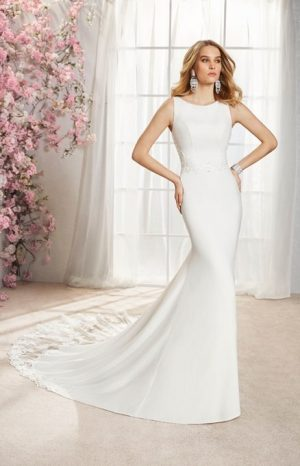 Fishtail Wedding Dress - Ilde 18364