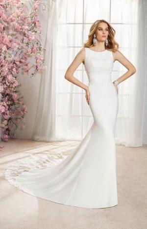 Fishtail Wedding Dress - Ilde 18364