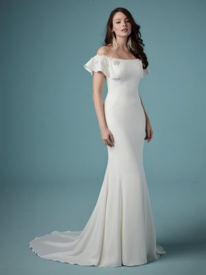 Simple wedding dress - Ainsley
