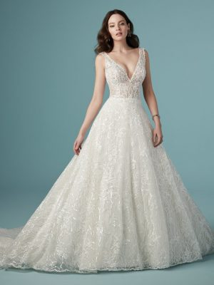 A-line wedding dress - Ricarda