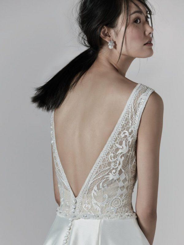 A-line wedding dress - Montana