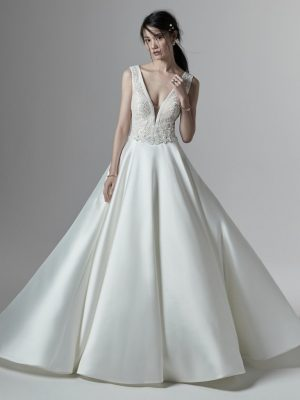 A-line wedding dress - Montana