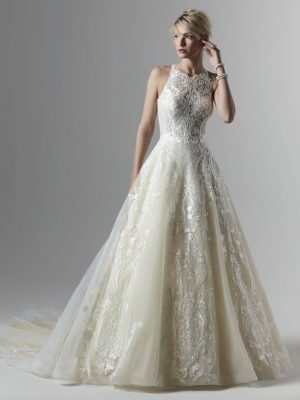 Ballgown Wedding Dress - Tovah