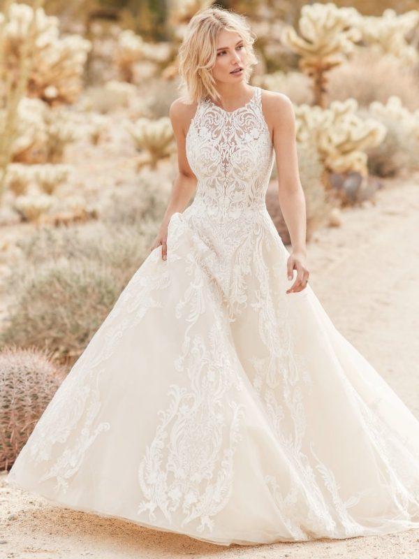 Ballgown Wedding Dress - Tovah