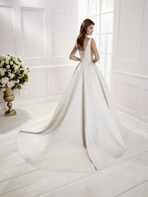 Sleeveless Wedding Dress - Cora 69466