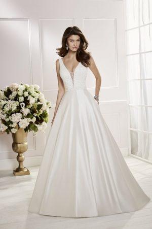Sleeveless Wedding Dress - Cora 69466