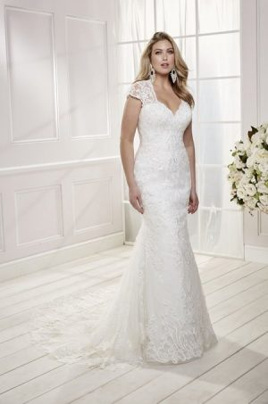 Lace Wedding Dress - Camelia 69473