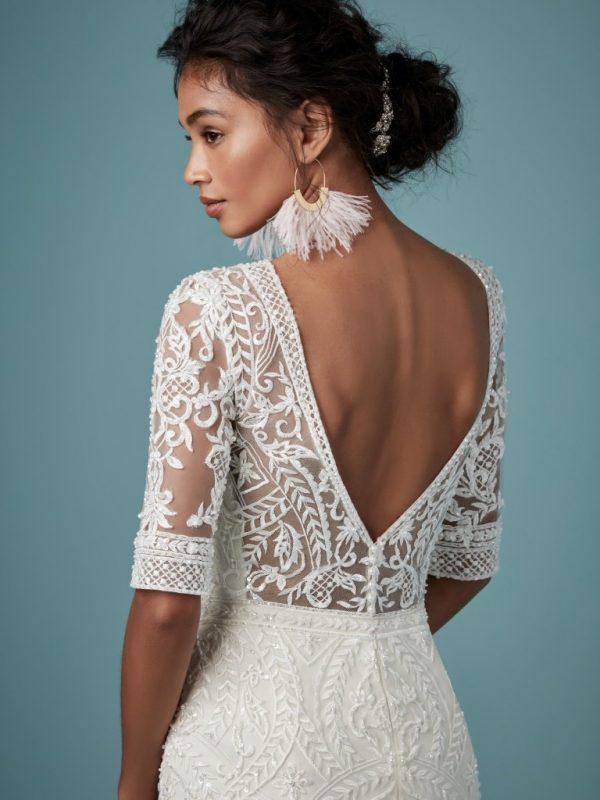 Boho wedding gown - Blake
