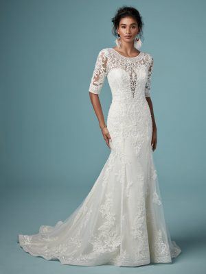 Boho wedding gown - Blake