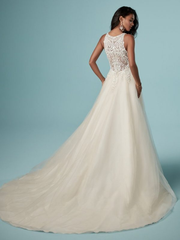 A-line wedding dress - Pernille