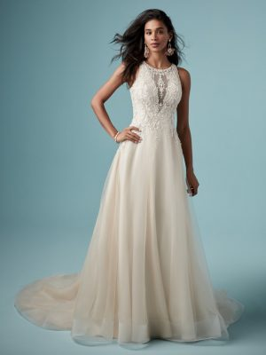 A-line wedding dress - Pernille
