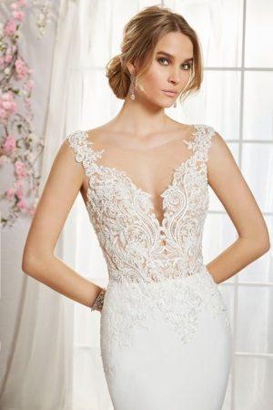 Fishtail Wedding Dress - Iolanda 18358