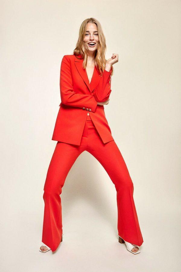 Beaumont Orange Trouser Suit